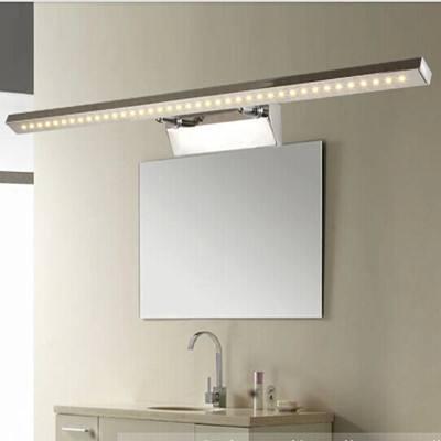 卫生间装修技巧:浴室镜前灯应该怎么安装?