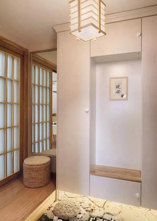 110�O日式风格装修效果图 庭院设计结合新中式 雅致自然!