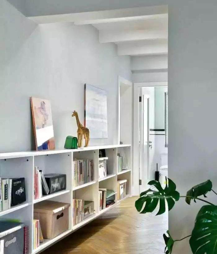 120�O新房装修 卧室门对开、开放式和封闭式厨房让家居生活更自由!