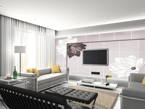 电视背景墙壁纸应该如何挑选和搭配?有哪些要点?
