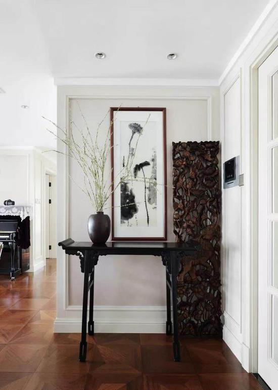 140�O美式风格与中式风格混搭装修 可优雅可儒雅!