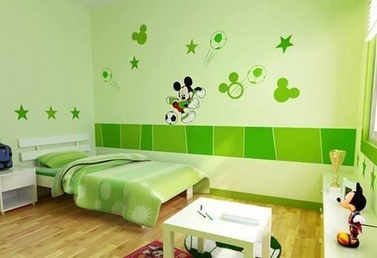 儿童房装修选择什么颜色比较适合?