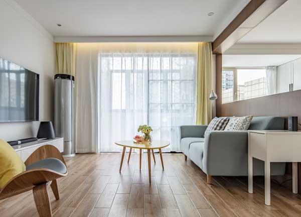 简约日式风格装修效果图 原木风打造的禅意三居室