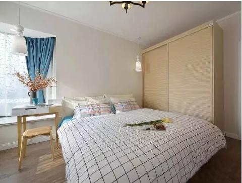 100�O现代风格装修 清新蓝色调让家更有气质!