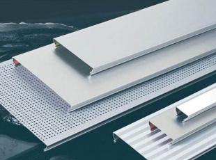 吊顶装饰材料中的铝扣板有哪些尺寸规格?选购时应该注意什么?