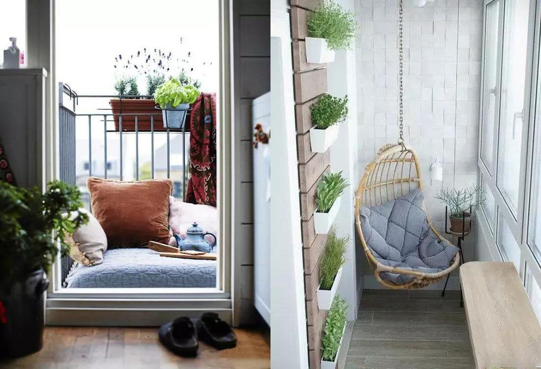 阳台空间虽小却有妙用 这样装修不仅好看还非常实用!