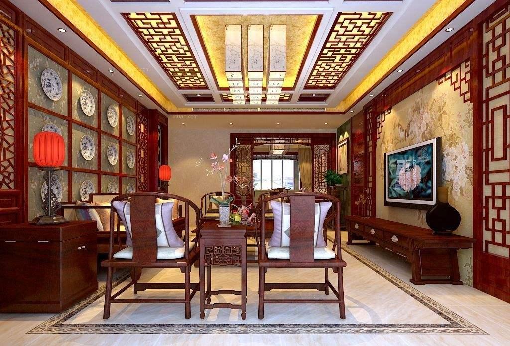 中式风格客厅装修搭配技巧及注意事项有哪些?