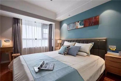 卧室装修之床头背景墙应该如何设计?