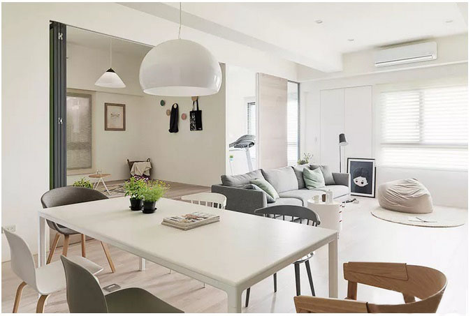 120�O现代简约风格之家 时尚大气与温馨并存!