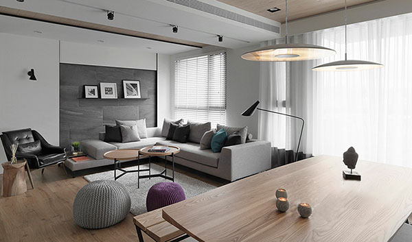 北欧风格家居装修这样设计 简洁轻松还亲民!