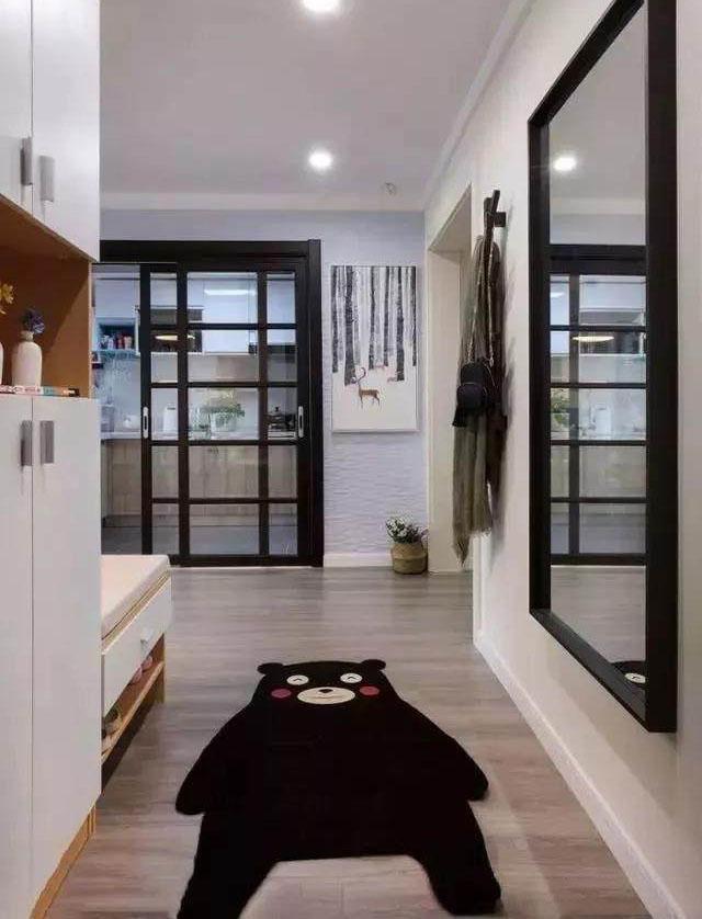 北欧风格二居室装修效果图 卡座结合开放式设计 好看又实用!