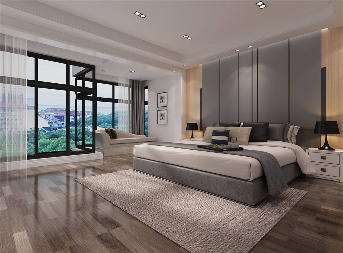卧室装修铺贴木地板好还是贴瓷砖好?