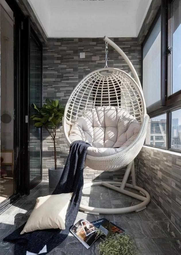阳台装修设计效果图赏析 不同的设计不同的感觉!