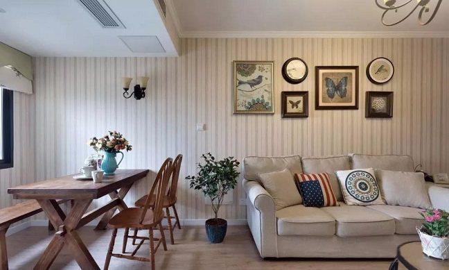 89�O美式风格三居室 朴素华丽又温暖的家!