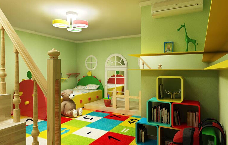 长沙装修公司丨儿童房装修适合什么颜色?