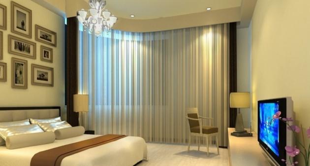 长沙装饰丨在家庭装修中如何安装窗帘杆?