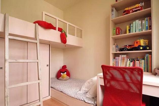 二胎家庭儿童房怎么装修?选上下铺还是两张床?