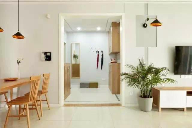 134�O现代简约风格装修 三室变四室 简约又实用!