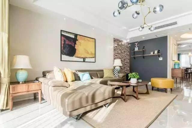 150�O北欧风格三居室 自然的色彩打造轻松舒适的生活方式!