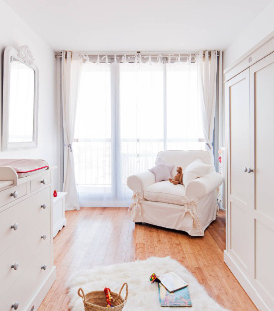 白色调装修很单调?选择这种白,打造温润的家居环境!