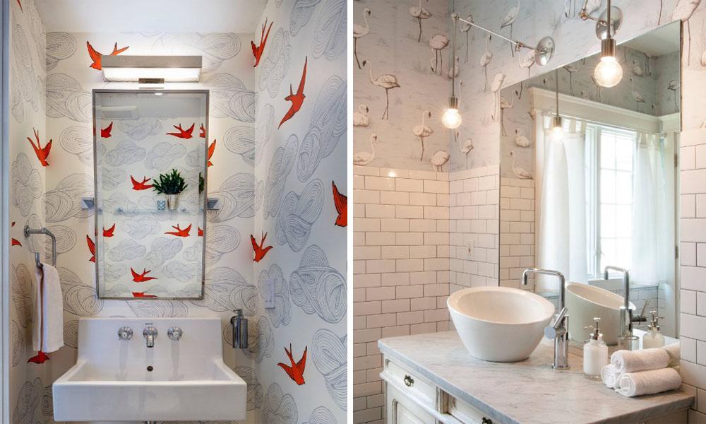 浴室装修除了贴瓷砖还能这样装修,好看又个性!