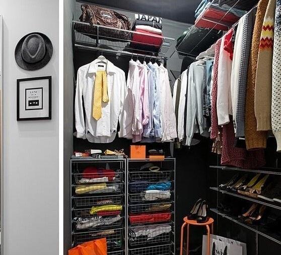 小户型衣帽间怎么设计才实用又不占地方?