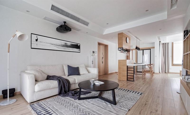 110�O简约两居室装修设计