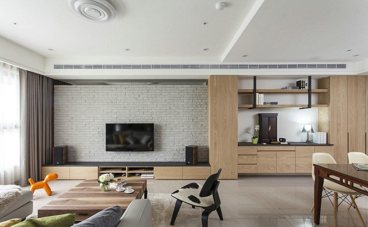 长沙装饰公司丨常见的电视背景墙种类有哪些?