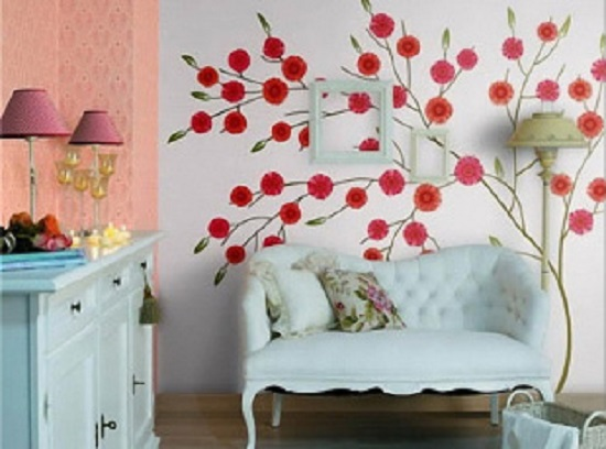 客厅沙发背景墙装修成这样,从此爱上一面墙!