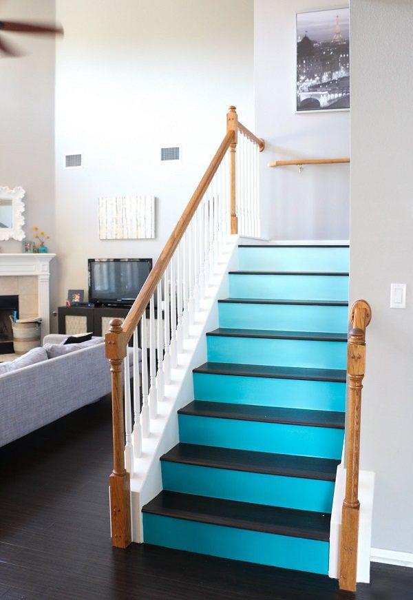 复式户型楼梯这样设计,从毫不起眼到引人注目!