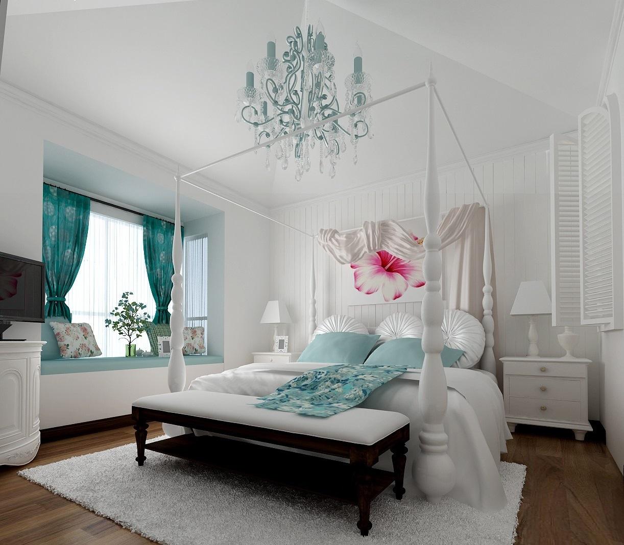 小户型卧室的装修技巧,让空间更大更敞亮!