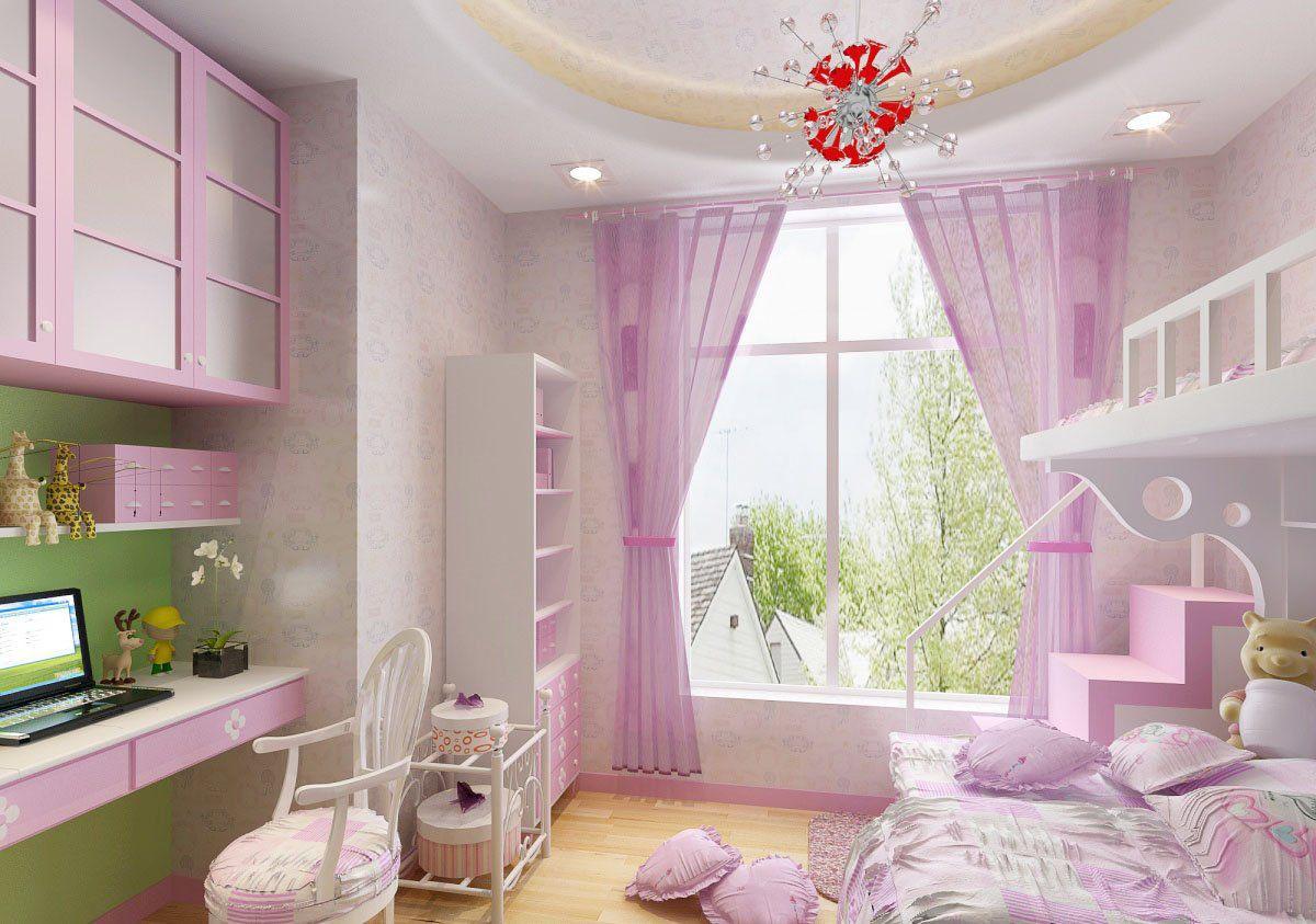 女生卧室掌握这些装修技巧,成全她的公主梦!