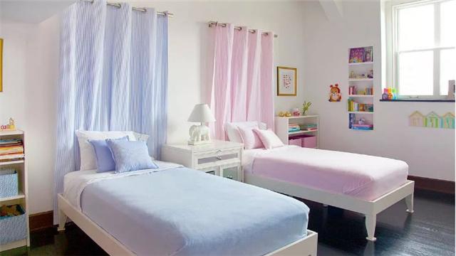 一个房间两个孩子 二胎家庭儿童房设计原则是什么