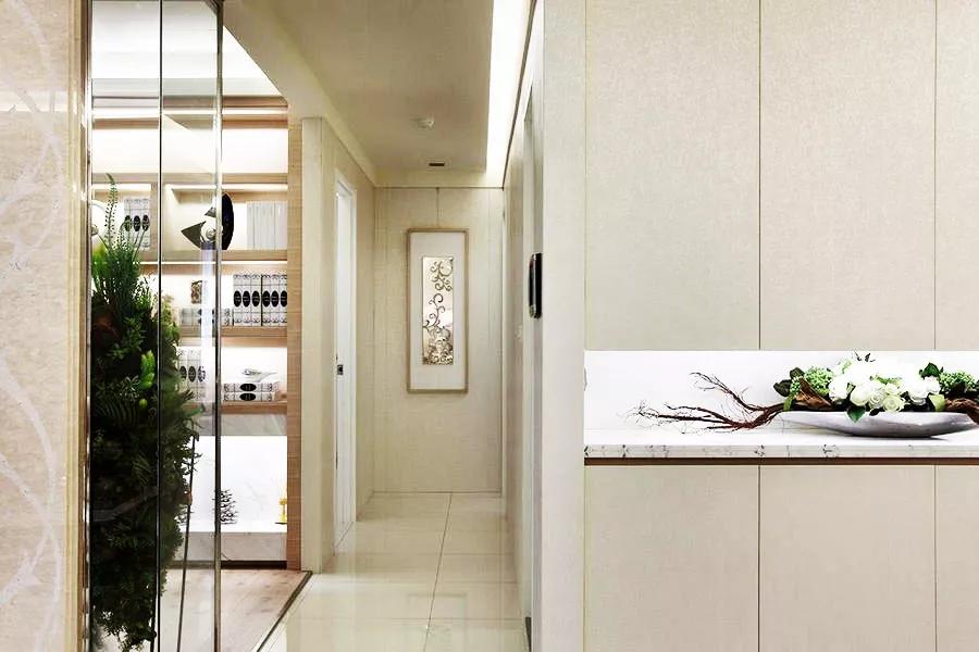 谁说小户型不适合装欧式?看这89�O欧式住宅如何演绎纯净与奢华!