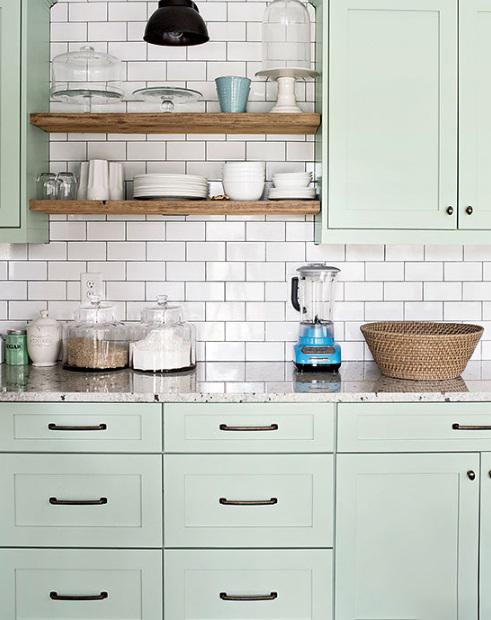 橱柜装修别再用单一的黑白色了,试试这些颜色,好看又流行!