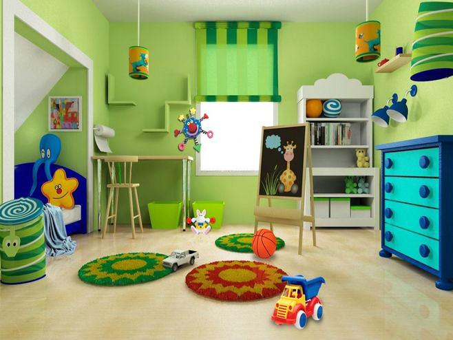 儿童房装修贴什么颜色的壁纸好看?试试这几种颜色,好看又温馨!