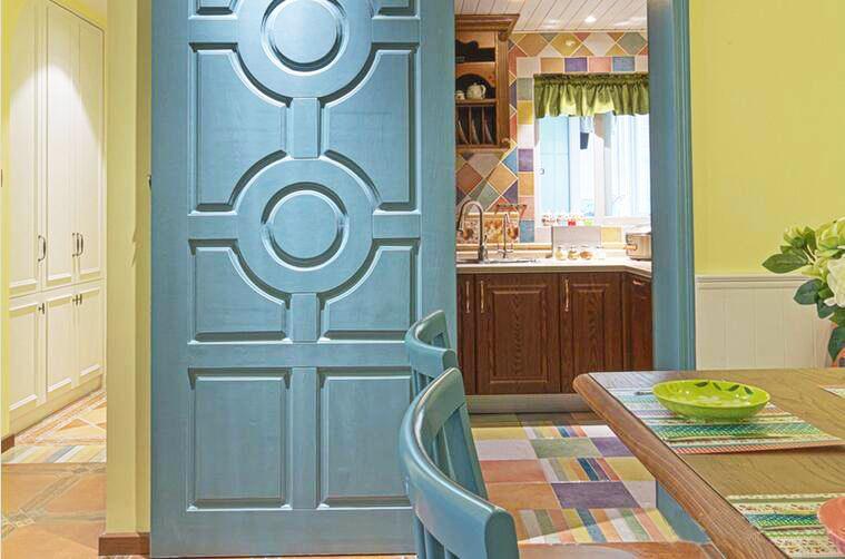 90�O混搭风格装修效果图,多元文化的结合打造温馨之家!