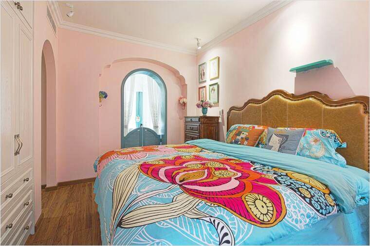 90㎡混搭风格装修效果图,多元文化的结合打造温馨之家!