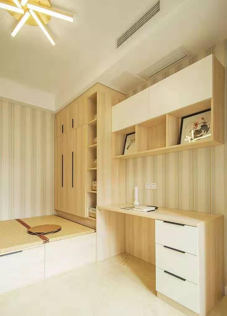 卧室小空间很局促?书桌这样设计,卧室与书房兼得!