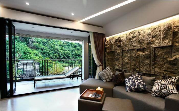 天然石材配实木 这样的现代风格你爱了吗?
