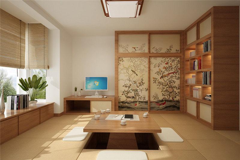 日式风格书房装修这几点需要注意!