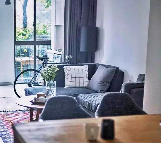 89㎡北欧风格二居室 极简的线条配纯白空间打造温润舒适的家