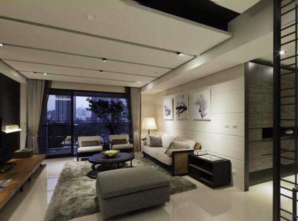130㎡天然材质打造的现代风格 静谧质朴的现代之家