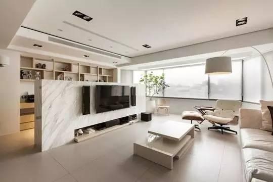 客厅电视墙如何设计好看?这4种背景墙很不一样!
