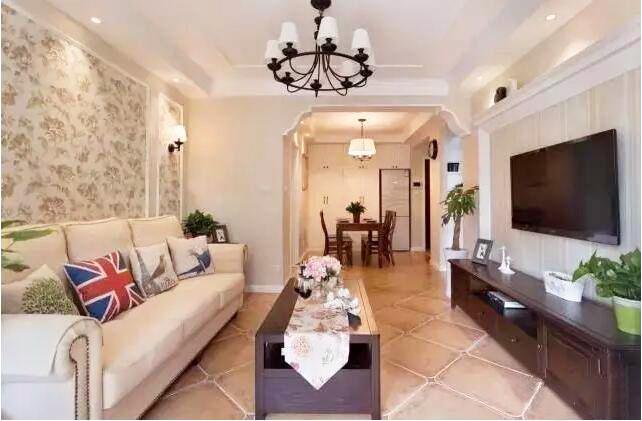 美式混搭风格新房装修,温馨的幸福之家