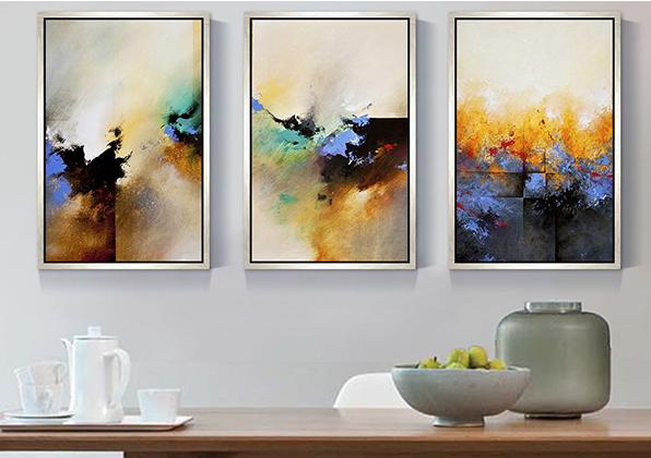 餐厅适合什么样的装饰挂画?挂画有哪些讲究?